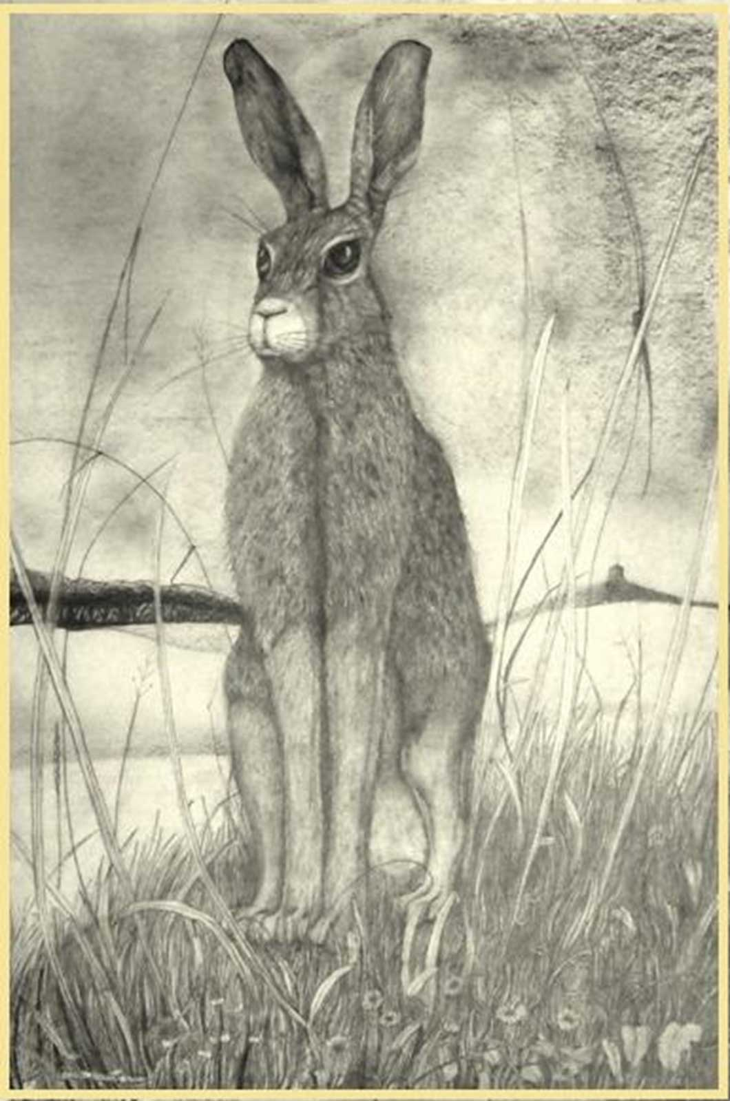 Talusman Fine Art Sean Jefferson - 'Hare Aristocracy' (We have a large selection of Sean Jefferson works)