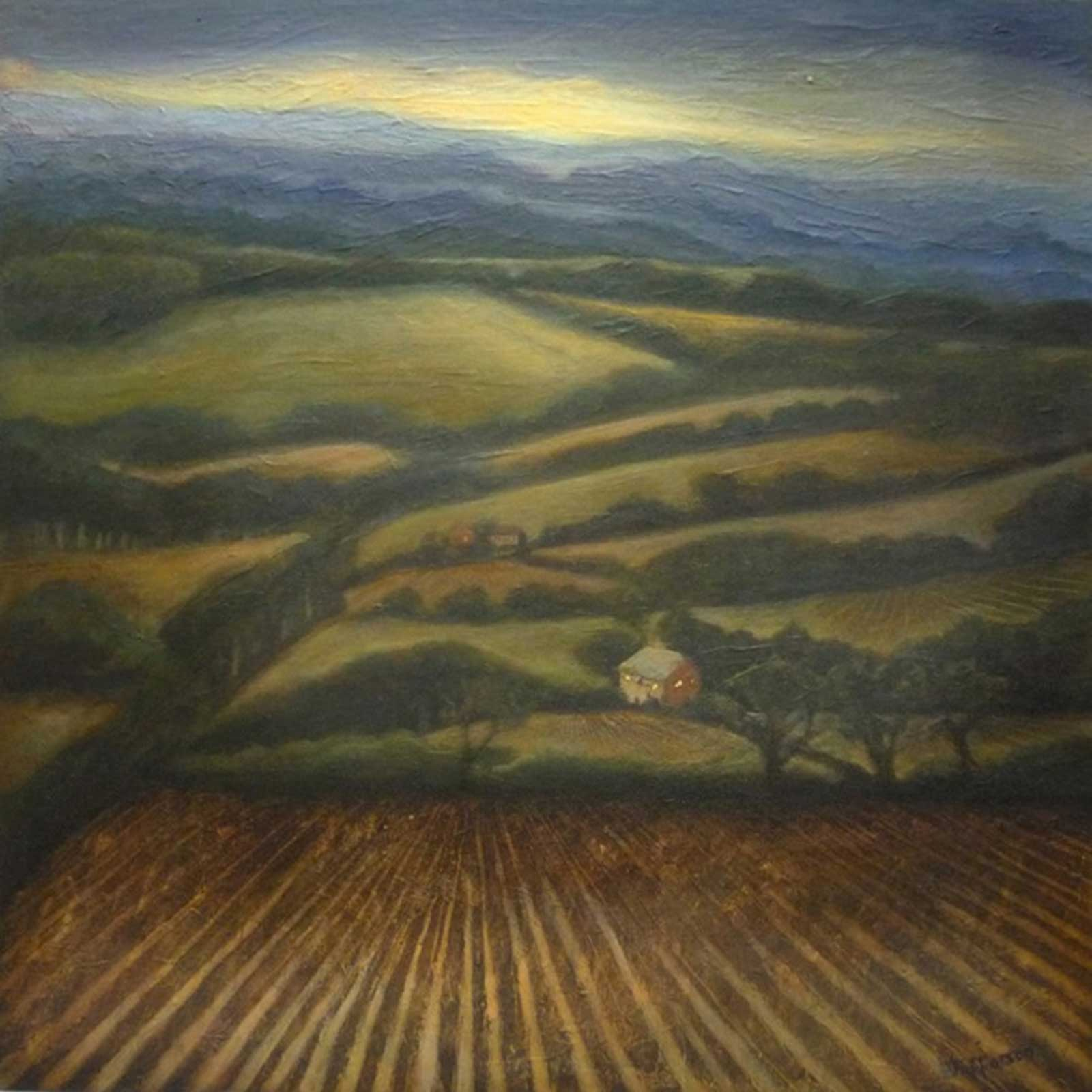 Talusman Fine Art Vera Jefferson - Early Evening (We have a large selection of her work)