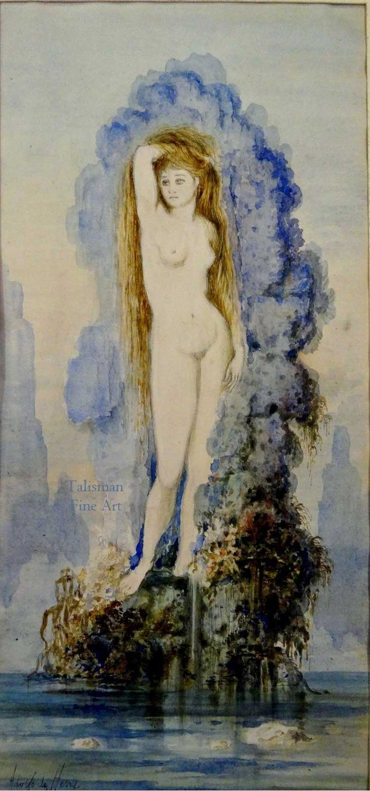 Talusman Fine Art Adolfo de Herra - Venus (1890) (We have more works by Adolfo de Herra)