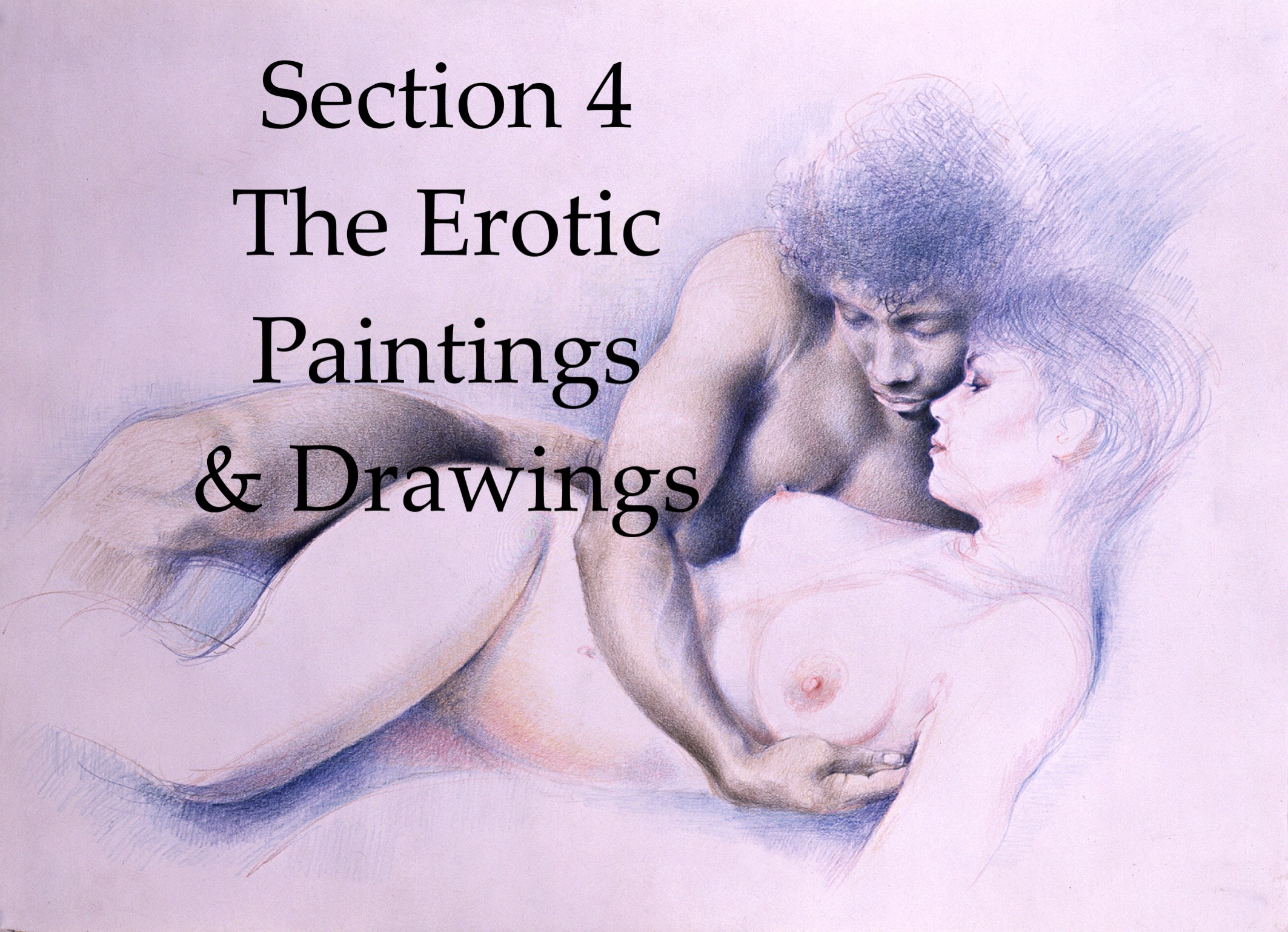 Section 4, The Erotic Paintings & Drawings - Talisman Fine Art
