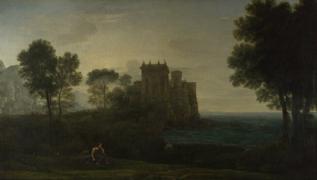claudethe enchanted castle national gallery.jpg