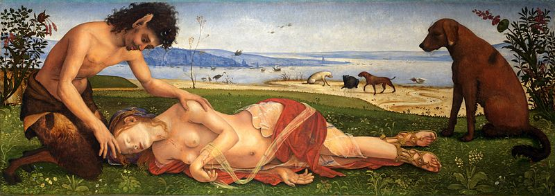 piero di cosimo a satyr mourning over a nymph.jpg